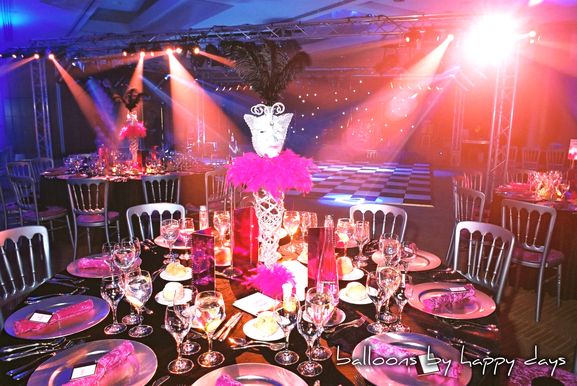 Barmitzvah Balloon decorations in London and South East.